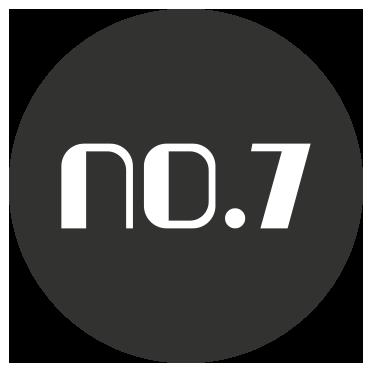 no.7 logo